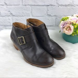Korks Ease Leather Booties